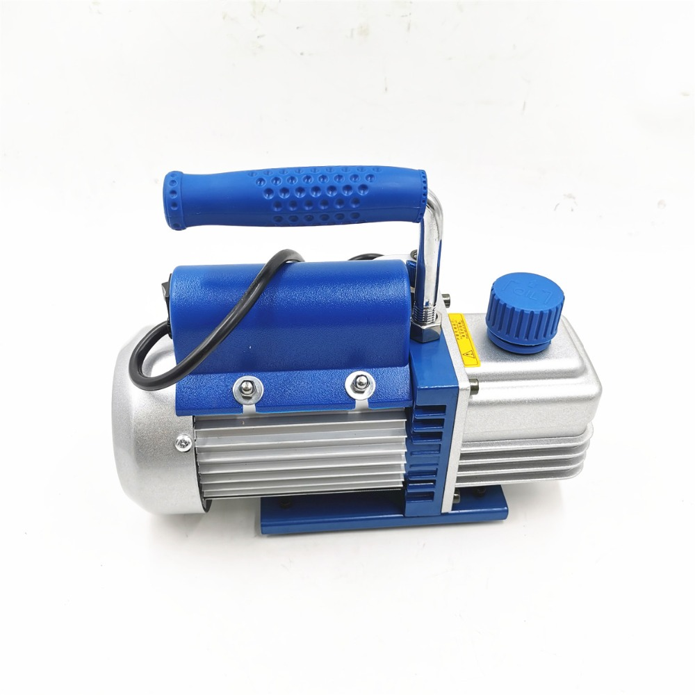 FY-1H-N Rotary Vane Single Stage Air Vacuum Pump 2PA Ultimate Vacuum For Air Conditioning And LCD Screen Separator 220V 150W