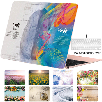 Case for Macbook Pro 13 15 16 Air 13 11 12 Art Flower Print Cover Retina Touch Bar Shell Design Picture A2251 A2289 fuwatacchi design picture here print