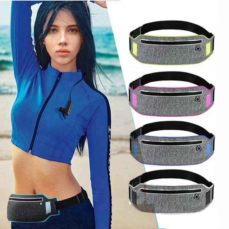 Sports Belt Bags Running Waist Bag Phone Case Men Women Gym Bags Luminous Running Belt Waist Pack Running Aaccessories