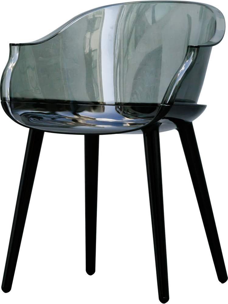 Nordic transparent dining chair ghost chair simple modern home creative designer acrylic plastic chair