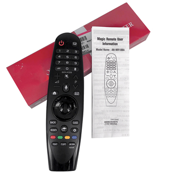 New Original For LG AN-MR18BA.AEU Magic Remote Control with Voice Mate for Select 2018 Smart TV, Replacement AM-HR18BA no voice new universal replacement remote control an mr500 an mr500g for lg magic 3d smart tv no voice no bluetooth controle remote