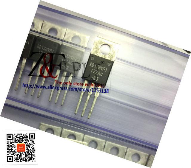 RD15HVF1 RD15HVF1 101 RD15 HVF1 175MHz520MHz, 15W הסיליקון MOSFET כוח טרנזיסטור חדש מקורי 10 יח\חבילה