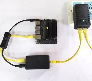 Image 5 - DSLRKIT Jetson Nano 5V 4A Active PoE Splitter power button Gigabit Power Over Ethernet