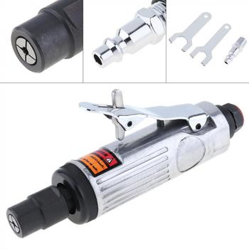 1/4 25000RPM Straight Shank Collet Pneumatic Grinding Machine Air Die Grinder with Small Hex Wrench for Various Molds/Grinding
