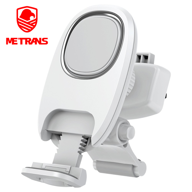 Metrans Universal Magnetic Car Phone Holder For iPhone 360 Rotation Air Vent Outlet Car Phone Mount Stand Holder telefon tutucu