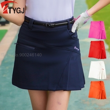Summer Women's Short Skirt Pleated Golf Skirt Casual Outdoor Sports Girls Skirt Slim Fit Badminton Tennis Skorts XS-XXL Choose