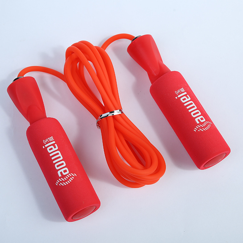 New Style Sponge Bearing Jump Rope PVC Outdoor Adult Fitness Body-hugging Small Commodity The Department Store Customizable