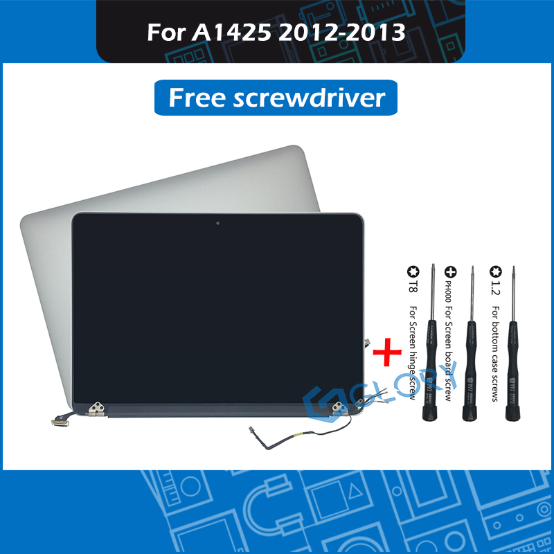 Late 2012 Early 2013 Laptop <font><b>A1425</b></font> LCD <font><b>Screen</b></font> Full Assembly 661-7014 for Macbook Pro 13
