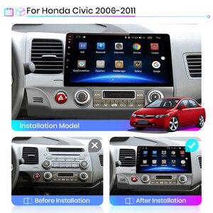 Image 3 - Junsun V1 2G+32G Android 10.0 DSP Car Radio Multimedia Video Player For Honda Civic 8 2005 2011 Navigation GPS No 2din 2 din dvd
