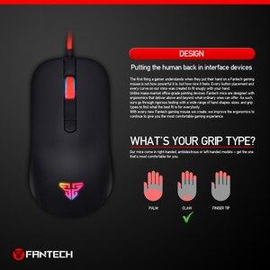 Image 4 - FANTECH G10 professionnel Gmae câble souris réglable 4800 DPI rvb 4 boutons souris optique jeu pour ordinateur portable jeu souris