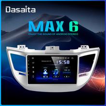Dasaita 10 2 #8222 Radio samochodowe IPS Android 9 0 dla Hyundai IX35 Tucson Multimedia 2016 2017 USB 64GB ROM samochodowy sprzęt Audio TDA7850 tanie tanio Jeden Din 10 2 4*50W System operacyjny Android 10 0 Jpeg Dasaita player for Hyundai Tucson 2016 2017 1024*600 3 5kg Bluetooth