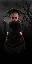 Vogue Original Collection Mezco Living Dead Dolls The Girl in Black Series 29 The Nameless Ones Action Figure Dolls Gift