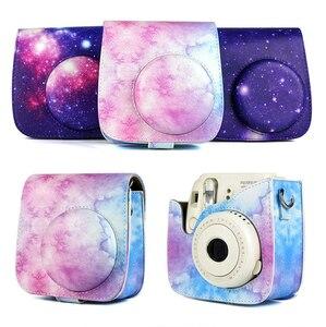 Image 4 - กล้องป้องกันกรณีที่มีสีสันรูปแบบกระเป๋ากล้องหนังสำหรับFujifilm Instax Polaroid Mini 8/ Mini8 +/ 9กระเป๋าถือ