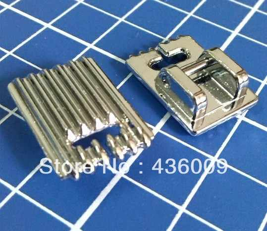Household Sewing Machine Parts Presser Foot 701-5 / Pintuck Foot 5 Grooves and twin needle 2mm 3mm 4mm