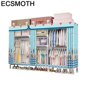Garderobe Mobili Armoire De Rangement Moveis Para Casa Armario Tela Closet Guarda Roupa Bedroom Furniture Cabinet