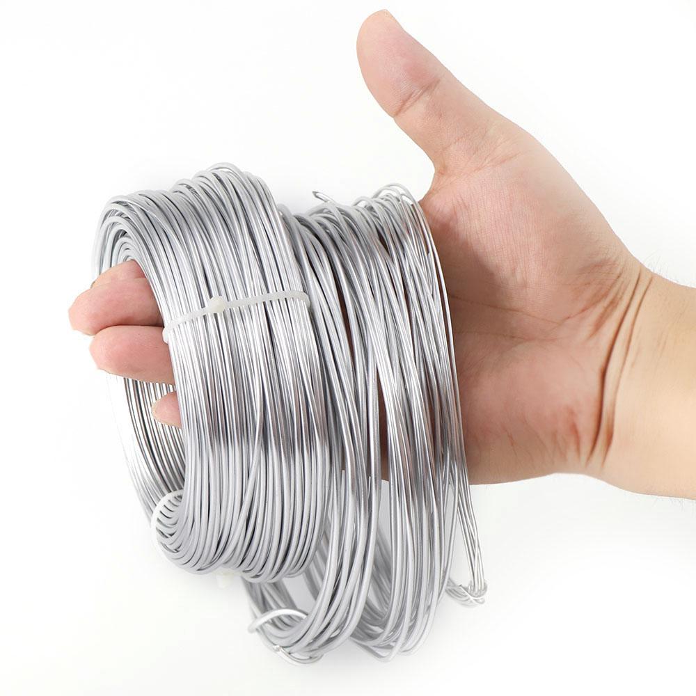 1mm/1.5mm/2mm/2.5mm Aluminum Wire Jewelry Findings For Jewelry Making DIY Aluminum Craft Wire Silver Gold Plated Beading