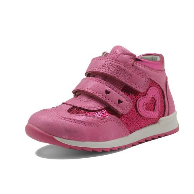 Primavera outono meninas sapatos nova criança de couro do plutônio crianças tênis com zip anti deslizamento sapatos para meninas eur 21 26