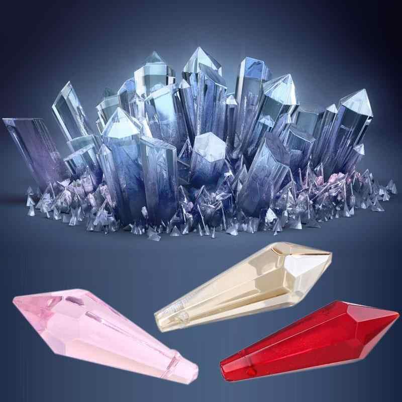 Accesorios de lámpara de cristal, colgante de atrapasol de guirnalda de cristal, cuentas de cristal de acrílico de 38mm, Prisma con forma de bola de cristal transparente