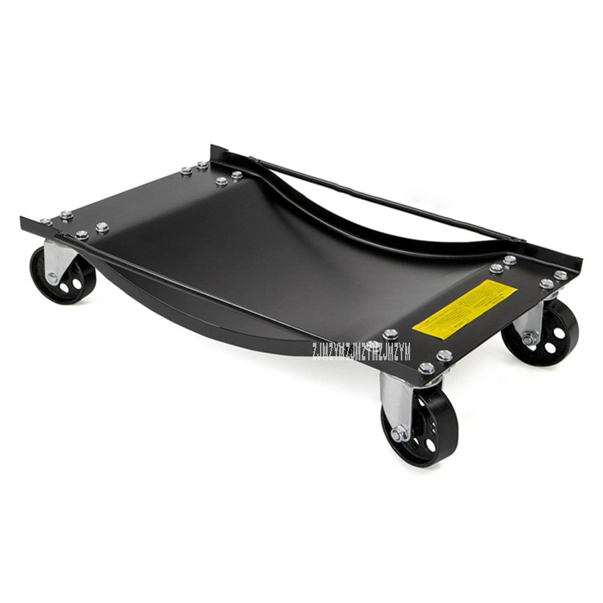 Property Trailer Auto Repair Car Mover Steel Plate Motorcycle Car Moving Bearing Tool Universal Wheel Vehicle Moving Wheel