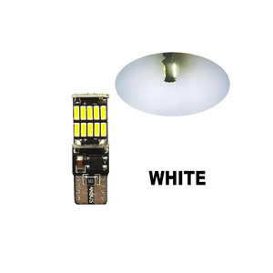 Image 2 - Promoción de 20 piezas 10 w5w canbus luz interior de coche 194 501 led 26 4014 instrumento SMD luces bombilla luz Domo 12V 6000K