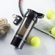 NEW Creative Whey Protein Powder Mixing Bottle Outdoor Sports Shaker Fitness Water Bottle With Three-layer Leakproof BPA Free new creative whey protein powder mixing bottle outdoor sports shaker fitness water bottle with three layer leakproof bpa free