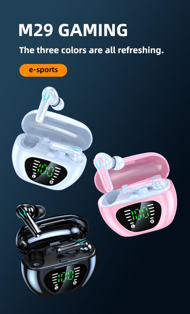 2021 New Portable Trend M29 E sports Chicken Game Wireless compatible 5.1...