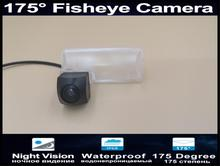 175 Degree Fisheye Lens 1080P Reverse  Parking Car Rear view Camera For Subaru Forester 2013 2014 2015 2016 Car Camera