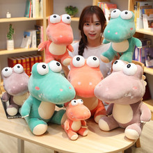 Cute Cartoon Crocodile Toys Plush Toy Stuffed Animal Big Eys Crocodile Plush Doll Children Toy Creative Girls Gift