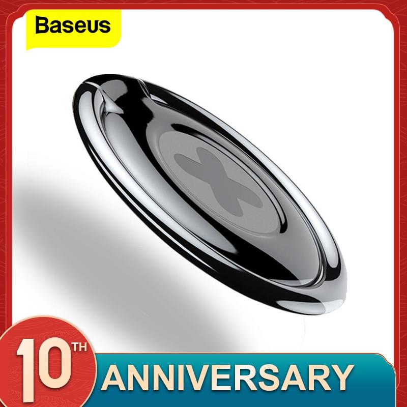 Baseus 360 Degree Metal Finger Ring Holder For IPhone X 8 Samsung S9 Tablet Phone Ring Holder For Phone Support Magnetic Holder