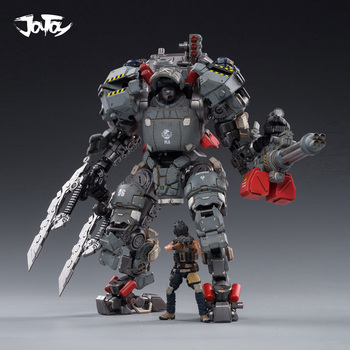 1/25 JOYTOY Action Figure Robot H06 STEEL BONE ARMOR Mecha And Military Soldier Figure Model Toys Collection Toy [show z store] joytoy source acid rain mecha ht01 iron skeleton transformation action figure