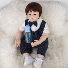 Кукла реборн jingxin prinses 60 см крутая Мягкая тканевая кукла