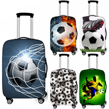 Luggage-Cover Travel-Accessory Trolly Cool Dust-Proof Footbally Soccerly Elastic