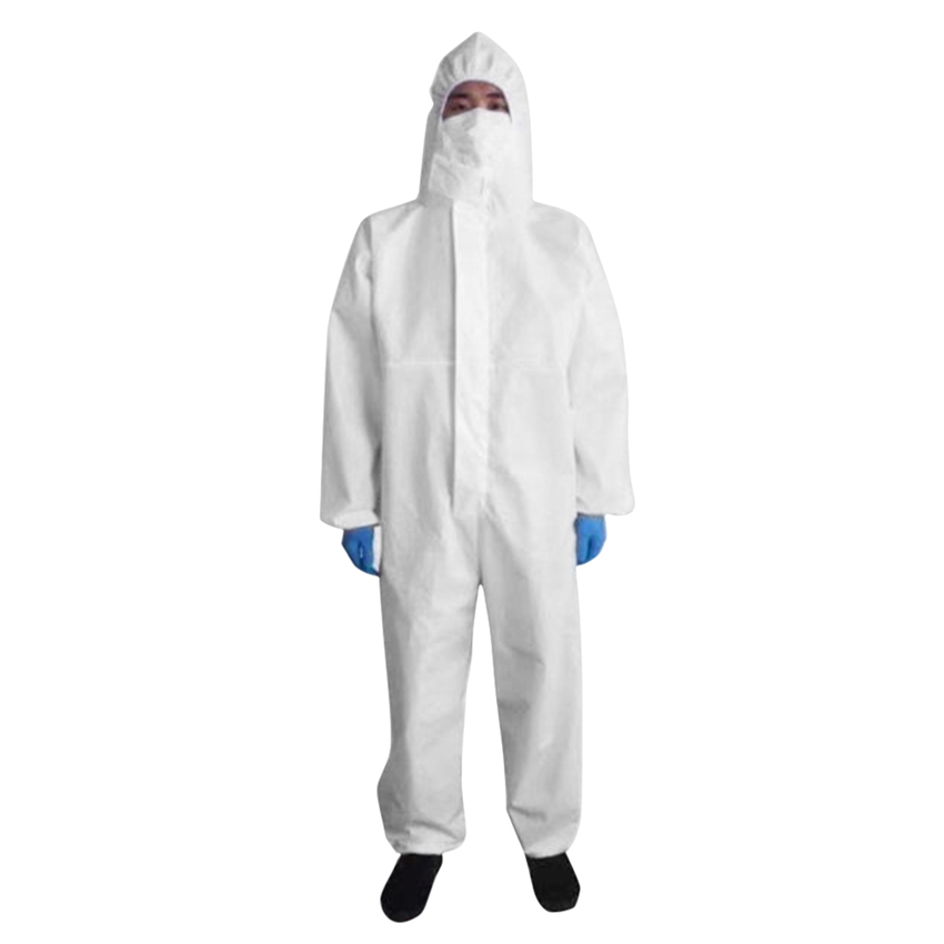 Protective Clothing Anti-dust Disposable Clothes Laboratory Clothing Anti-dust Anti-fog Protect Body Men Women Clothing S-3XL
