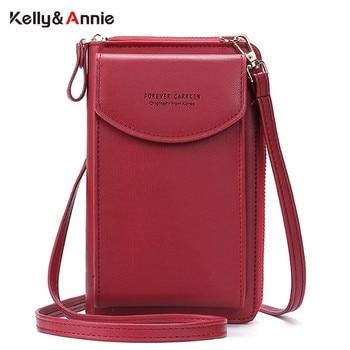 2020 Fashion Cell Phone Case Designer Small Shoulder Bag for Women PU Leather Ladies Crossbody Bag Female Mini Messenger Bags