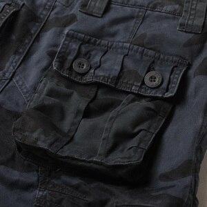 Image 4 - Jeans militaires européens, pantalon de Camouflage pour homme, nombreuses poches, Style militaire tactique des Forces masculines