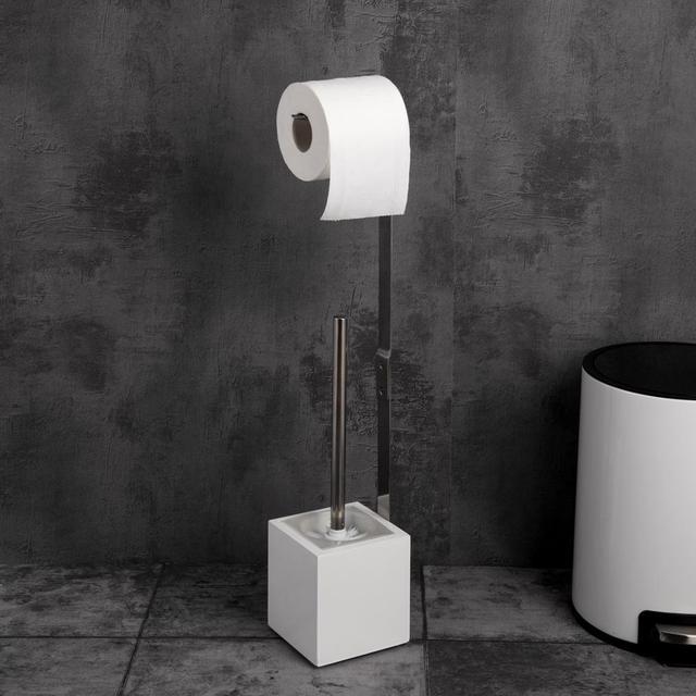 Porte Papier Toilette avec Brosse