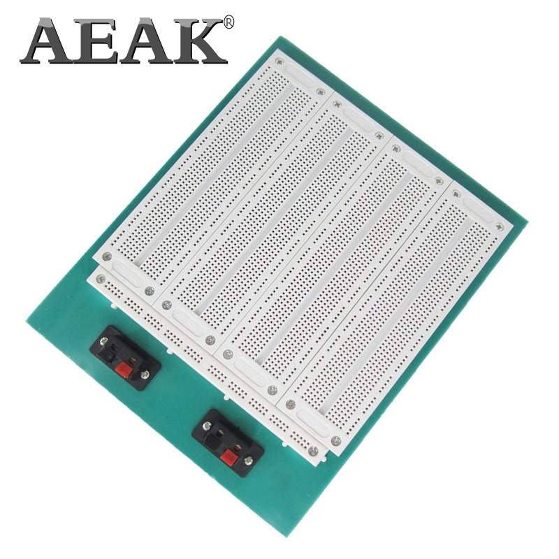 AEAK 4 In 1 700 Position Point SYB-500 Tiepoint PCB Solderless Bread Board Breadboard