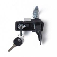 Черный антикоррозийный инструментальный ящик компрессионные замки защелка Замена для инструментальный ящик кемпер прицеп Грузовик Караван RV