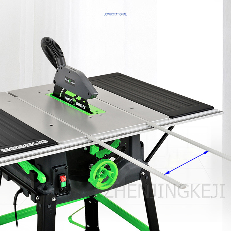 220V 10 Inches Table Saw Woodworking Tools Desktop Cutting woodworking Table Saw For Wood Electric Processing Equipment 1800W