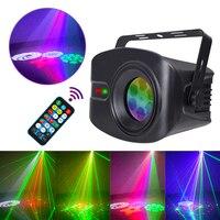 YSH Laser Disco Light Party Lamp nebbia macchina radiazione DJ Controller proiettore Led Music Stage decorazione della casa regalo strobo RGB