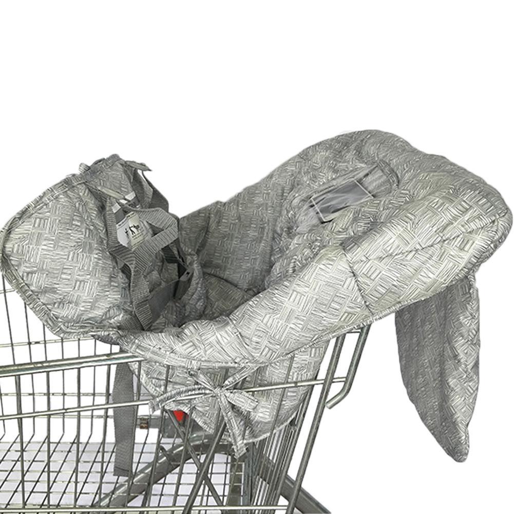 28*32*8CM Portable Baby Children Shopping Cart Seat Cushion Chair Cushion Travel Mat