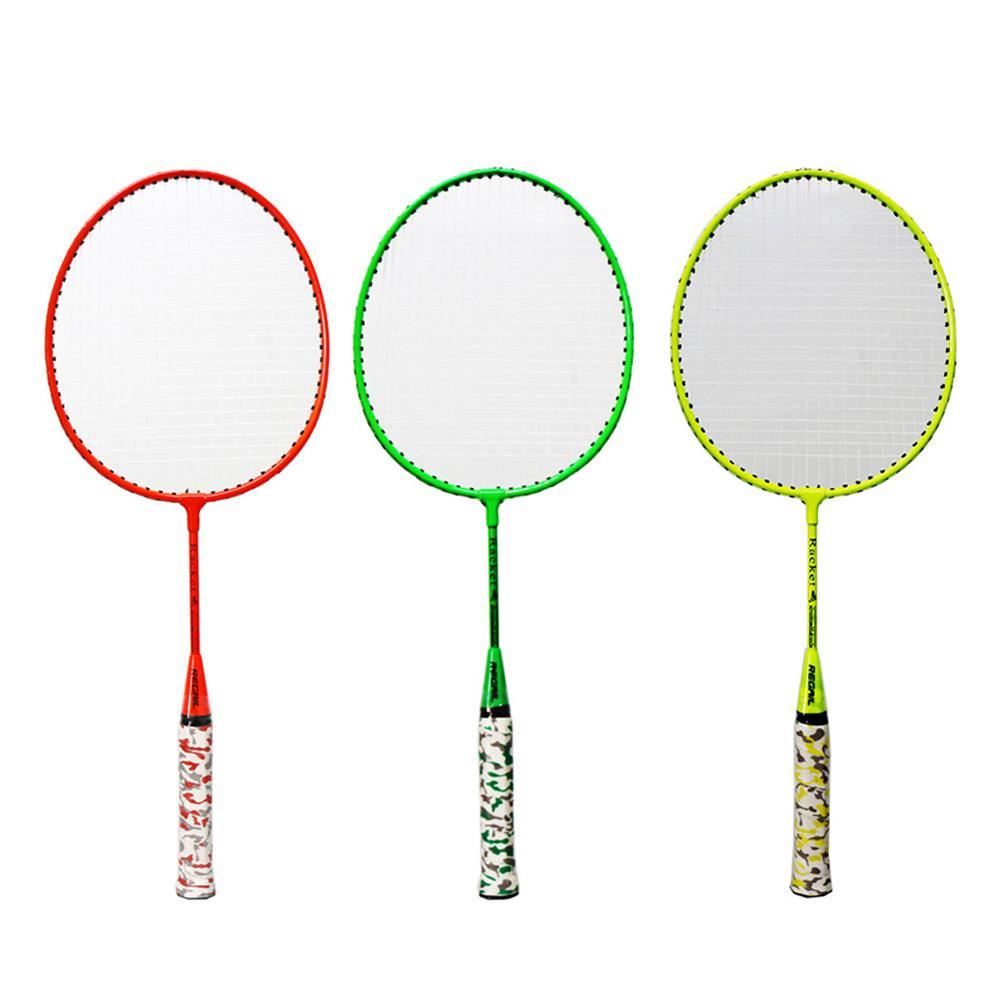 2pcs Professional Badminton Racket Set Free Two Balls Racket Battledore Set For Children Outdoor Sport