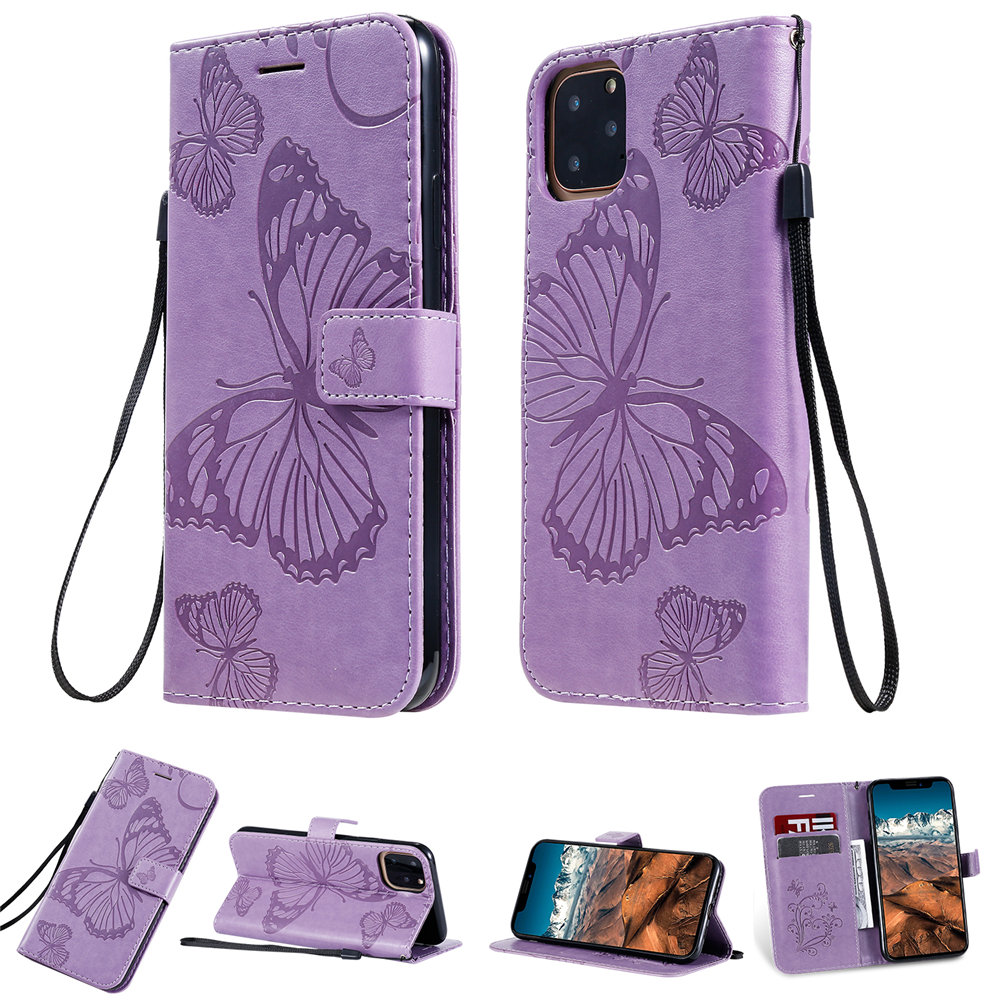 Butterfly Leather Wallet Case for iPhone 11/11 Pro/11 Pro Max 37