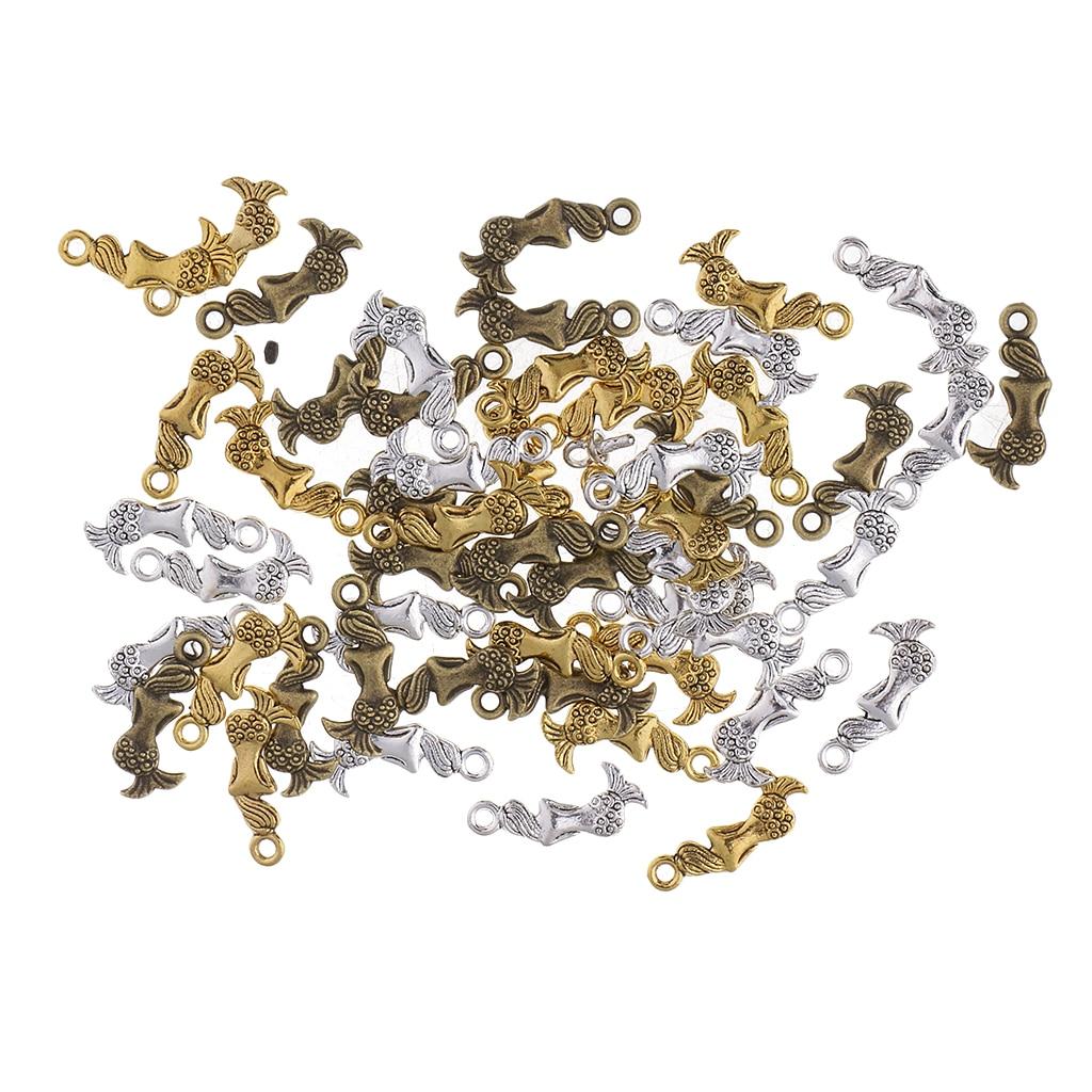10 charms dress silver 23 x 10 mm