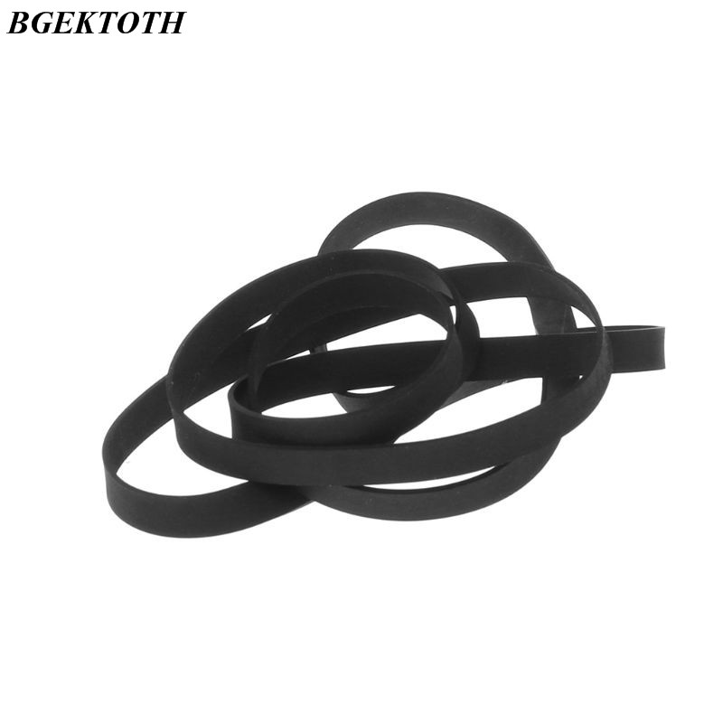 45-120MM Universal Assorted Common Flat Rubber Mix Cassette Tape Machine Drive Belt For Recorders Walkman CD DVD Drive Turntable
