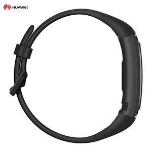 Image 3 - Huawei Band 4 Pro 0.95 pouces AMOLED écran tactile intelligent étanche BT Fitness Tracker fréquence cardiaque GPS SpO2 sang oxygène Bracelet