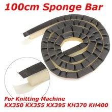 100 см иглы Губка бар полосы для Brother вязальная машина KX350 KX355 KX395 KH370 KH400 кровать 7 мм среднего калибра