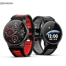 SENBONO S20 IP68 Waterproof Bluetooth 5.0 Smart Watch Heart Rate Monitor Smart Clock Men Women 2020 Smartwatch For Android IOS