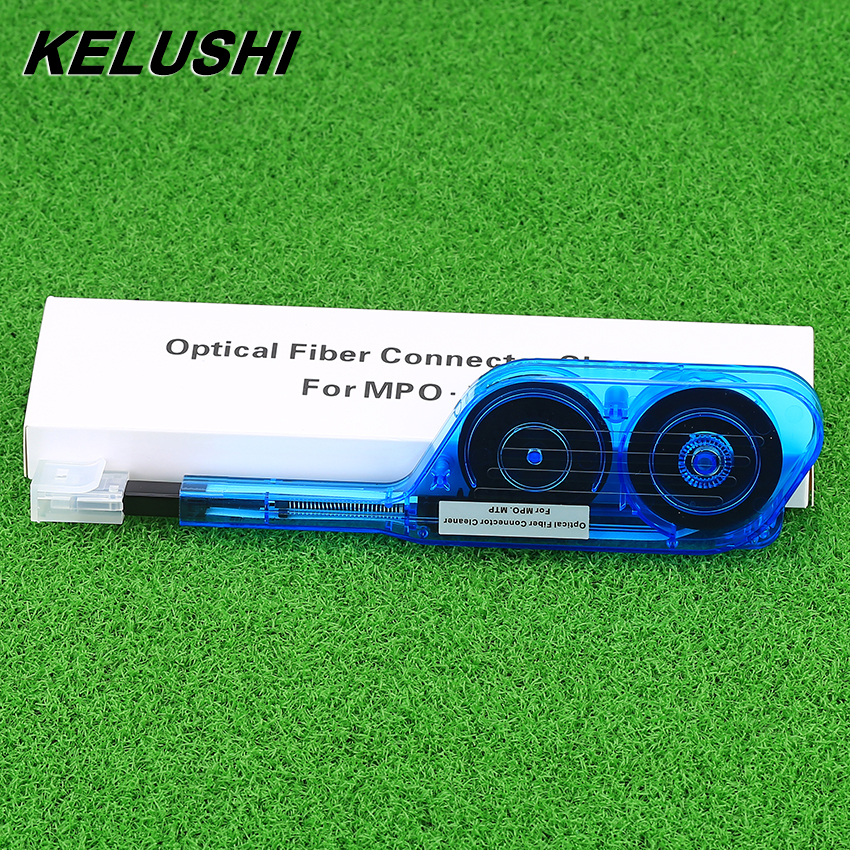 KELUSHI NFC IBC MPO Cleaner For Fiber Optic IBC One Click Cleaner for MPO MTP Connector