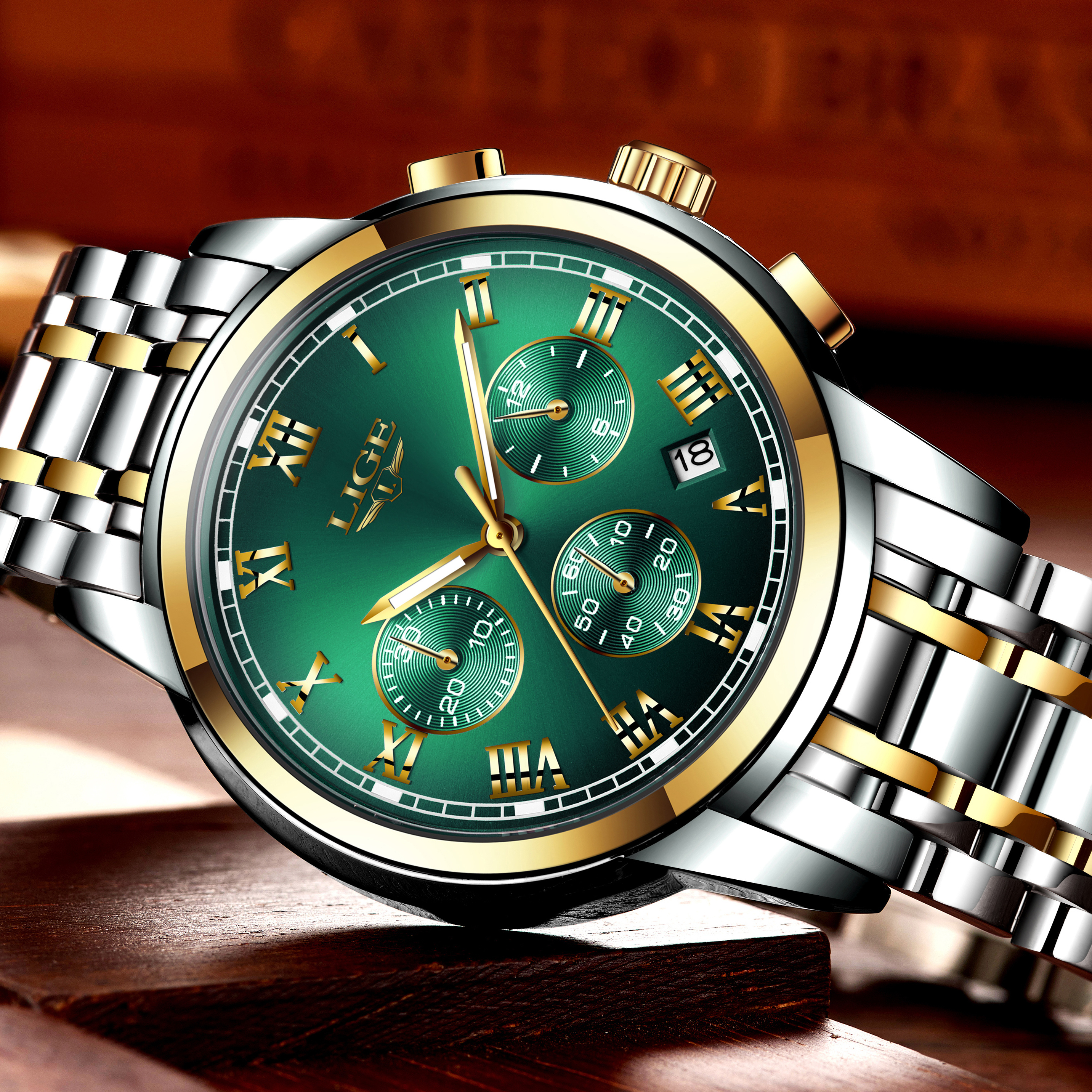Relojes Hombre 2019 LIGE New Watches Men Luxury Brand Chronograph Male Sport Watches Waterproof Stainless Steel Relojes Hombre LIGE New Watches Men Luxury Brand Chronograph Male Sport Watches Waterproof Stainless Steel Quartz Men Watch